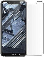 نوكيا 5.1 بلس (نوكيا X5) 2.5D لاصقة حماية زجاجية مغلفة - شفاف