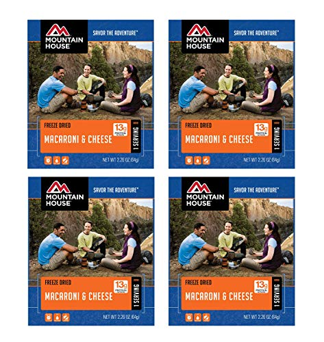Mountain House Macaroni & Cheese - Single Serve 4-Pack