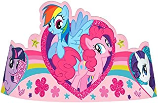 American Greetings, My Little Pony Party Tiaras, 8-Count