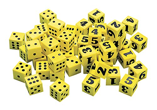 Didax 2-671 Easy Shapes Number Dice Set