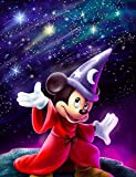 ZHONGYU Mickey Minnie - Kit de pintura de diamantes 5D para manualidades, cuadro...