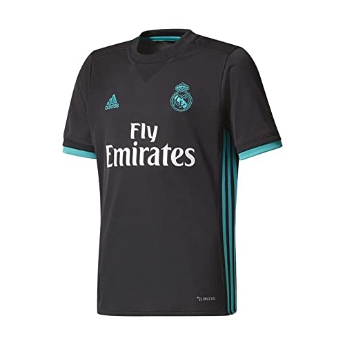 f553ec9e4cb Adidas Real Madrid CF Away Youth Jersey  BLACK