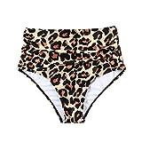 xingguang Traje de baño para mujer, de talle alto, pantalones cortos de natación, traje de baño, tra...