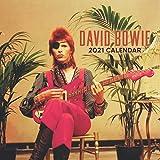 David Bowie 2021 Calendar: English Singer 2021 Calendar 8.5x 8.5 Monthly Square Calendar
