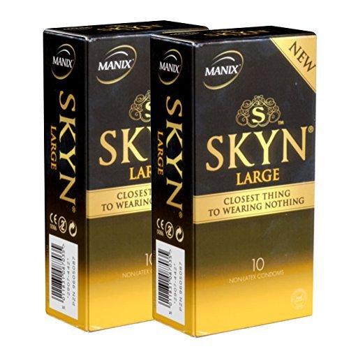 Manix SKYN LARGE 20 (2x10) latexfreie XXL Kondome - Vorteilspack!