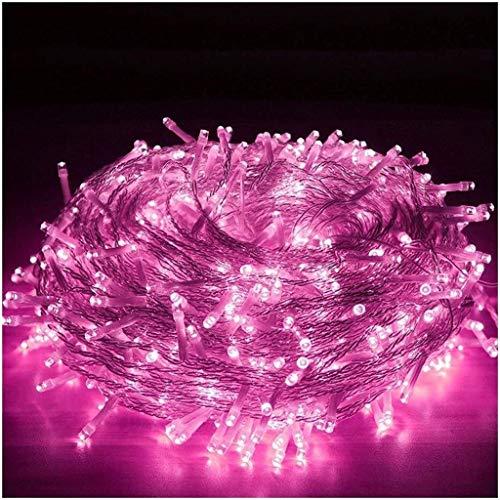 ZBM-ZBM Led-lichtsnoer, 100-3000 leds, fairy snoerlicht-10-300 m, met stekker, indoor outdoor-gordijn, verlichting voor tuin, kerstdecoratie, met afstandsbediening, 8 modi, warmwit, koppelbaar licht