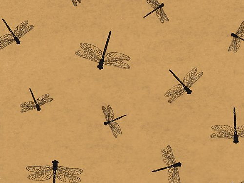 Dragonfly/Dragonflies Printed Tissue Paper for Gift Wrapping, 24 Sheets