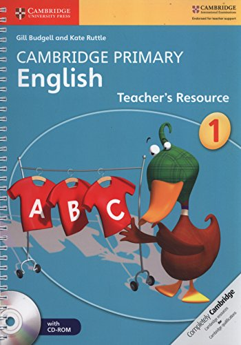 Cambridge Primary English Stage 1 Teacher\'s Resource Book with CD-ROM