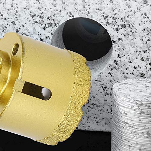 Cortador de perforación, para mármol, hormigón, piedra artificial, herramientas de perforación de hormigón para mármol, herramienta de corte