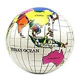 Globo hinchable con forma de globo terráqueo para niños