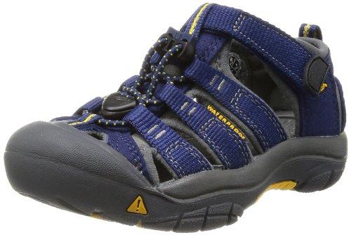 KEEN Unisex-Kinder Newport H2 Trekking- & Wandersandalen, Blau (Blue Depths/Gargoyle), 38 EU