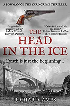 The Head In The Ice: A Bowman Of The Yard Investigation by [Richard James]