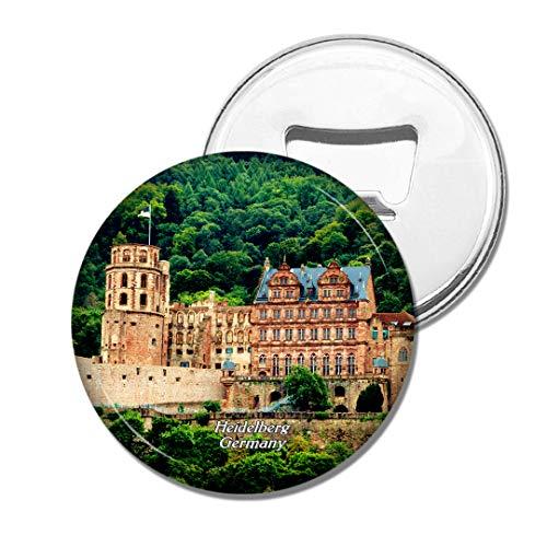 Weekino Deutschland Heidelberger Schloss Bier Flaschenöffner Kühlschrank Magnet Metall Souvenir Reise Gift