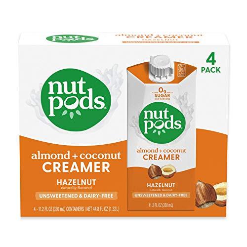 nutpods Hazelnut Dairy-Free Creamer (4-pack)...