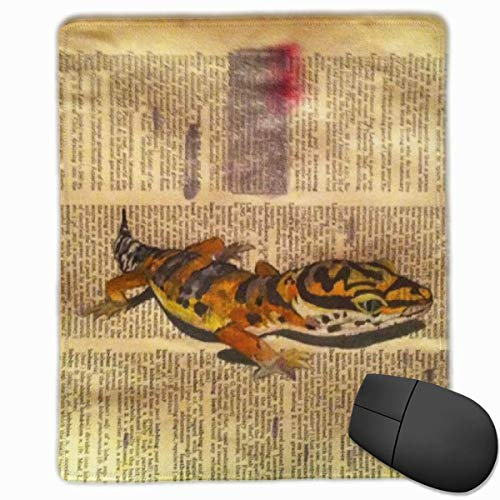 Glatte Mauspad Aquarell Leopard Gecko Mobile Gaming Mousepad Arbeit Mauspad Office Pad