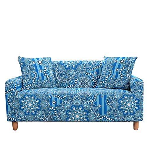 GoGOO Cubierta de sofá Tapa de Estiramiento Sillón Elástico Cubierta de sillón 2/3 Seavers Cubierta de sofá para Sala de Estar decoración del hogar