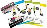 Stop! Fitness   Gymnastikball Fitness Ball   Trainingskarten Übungskarten, deutsche Version, Kartengröße 66 x 100 mm mit Kunststoffbox