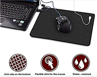 Earthing Grounding Computer Mouse pad & Grounding Cord for EMF Protection, Carpel Tunnel, Inflammation, Pain, Negative Ions, Fatigue, Reduce EMF Stress