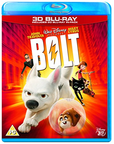 Bolt 3D [Blu-ray] [UK Import]