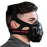 OXYGEN ADVANTAGE Masque DE Sport   Conçu par l'expert en Respiration Patrick McKeown   Entraînement en Altitude au Niveau de la mer, Masque d'entraînement, Masque de Fitness et Masque de Sport