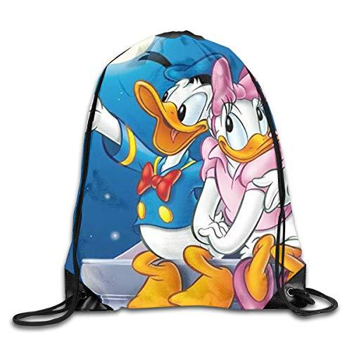Lawenp Drawstring Backpack Serena Darien in Your Arms Rucksack Shoulder Bags Sports Bag for Men Women