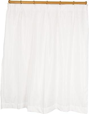 Arie(アーリエ) 採光 遮熱 UVカット 遮像 多機能レースカーテン リスター 2枚組 100×133cm