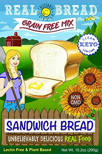Paleo-Keto Friendly-Grain Free Sandwich Bread Mix 10.2 oz