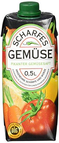 Scharfe Säfte Gemüse, 12er Pack (12 x 500 ml)