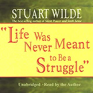 Life Was Never Meant to Be a Struggle audiobook cover art