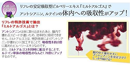 ブルーベリー&ルテイン31粒(約1ヶ月分)×3袋