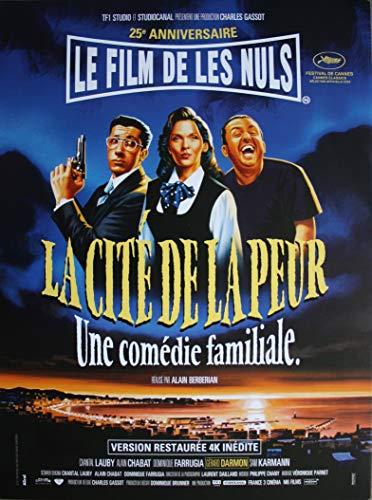 La Cité de la Peur Affiche Cinéma Originale (Format 53x40 cm pliée) Les NULS Ressortie 4K