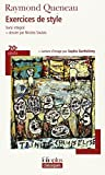 Exercices De Style (Folio Plus Classique) by Raymond Queneau (2007-10-22) - Gallimard (2007-10-22) - 22/10/2007