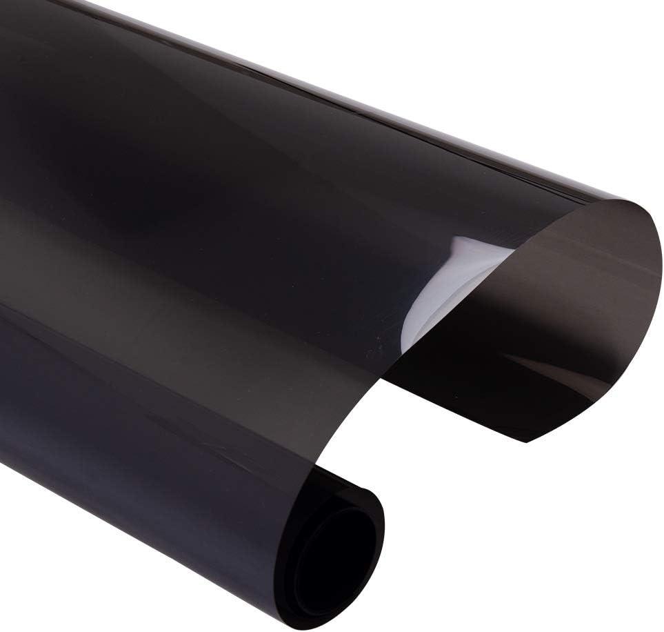 Free shipping 2021 spring and summer new ZHU-CL 100cmx400cm Black Car Window 2mil Solar Nano Film Ceramic