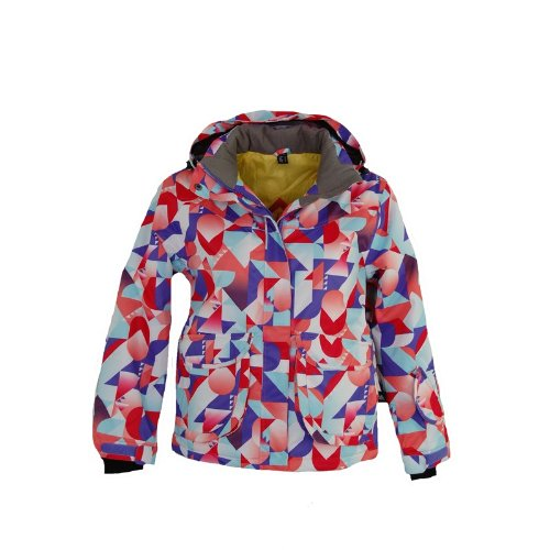 Intersport Firefly meisjes kinderjack Tesa Ski - snowboard - jas multicolour