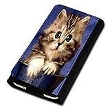 sw-mobile-shop Book Style Flip Handy Tasche Case Schutz Hülle Foto Schale Motiv Etui für Medion Life E4503 - Flip U3 Design7