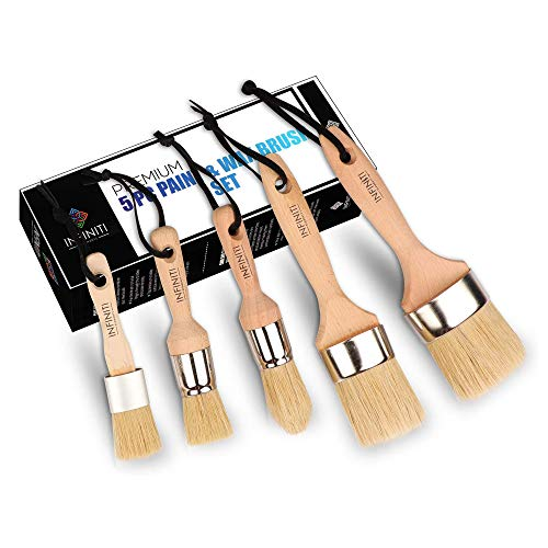 Infiniti Elementz 5Pc Chalk Paint Brush Master Set