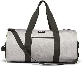 Victoria's Secret PINK Grey Marl Weekender Gym Duffle Bag