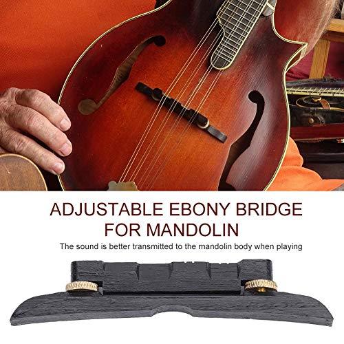 logozoe Einfach zu bedienende Mandolinenbrücke, Mandolinenteile, Hohe Qualität für Musiker-Mandoline