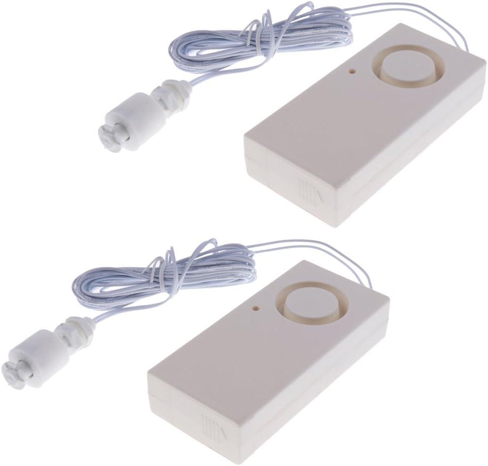 joyMerit 2x Wireless Fees free!! Water Alarm Free shipping New Overflow Shortage Leakage