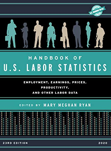 Compare Textbook Prices for Handbook of U.S. Labor Statistics 2020: Employment, Earnings, Prices, Productivity, and Other Labor Data U.S. DataBook Series 23rd Edition ISBN 9781641434065 by Ryan, Mary Meghan