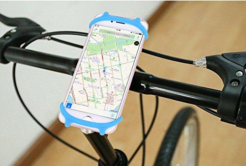 """Lebenstil Fahrrad Handyhalterung, Universal für Handys von 4"""" bis 6, Universell für Fast alle Smartphones, passend für iPhone, Samsung, Sony, Huawei, ZTE."""