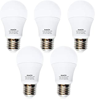 40 Watt Incandescent Equivalent LED Light Bulbs 5 W Lighting Fixture Soft Warm White A55 450 Lumens E26 Medium Base Bright for Home or Decorative, Pack of 5