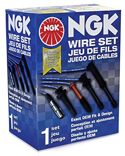 NGK (8028) RC-HE73 Spark Plug Wire Set