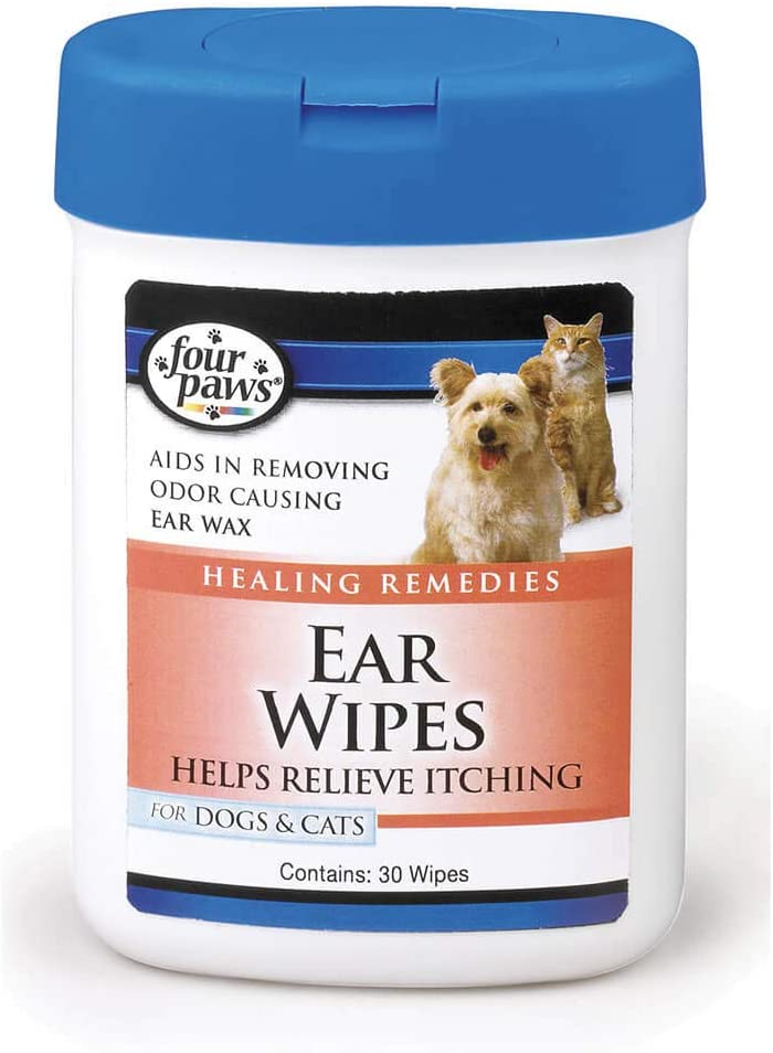 Four Paws Dog and Cat count Wipes San Francisco Mall Super sale 25 Ear