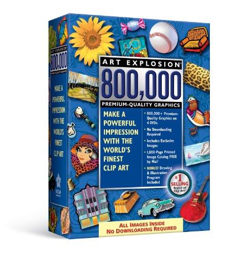 Price comparison product image Art Explosion 800, 000