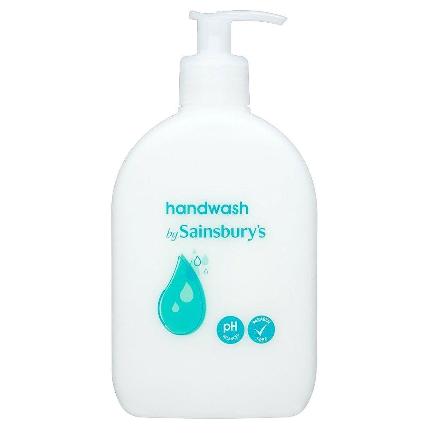 ミッション残高転倒Sainsbury's Handwash, White 500ml (Pack of 4) - (Sainsbury's) 手洗い、白500ミリリットル (x4) [並行輸入品]