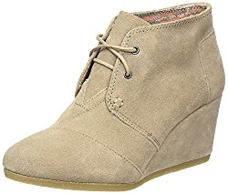 The Complete 2015 Gift Guide for Teen Girls. Toms Wedge Taupe Boot