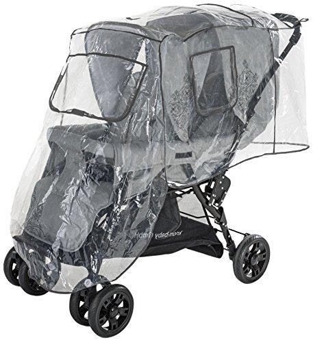 Diago 30009.75266 Komfort Habillage pluie pour poussette double