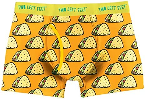 Two Left Feet Mens Boxer Brief Underwear Taco Tuesday Medium product image