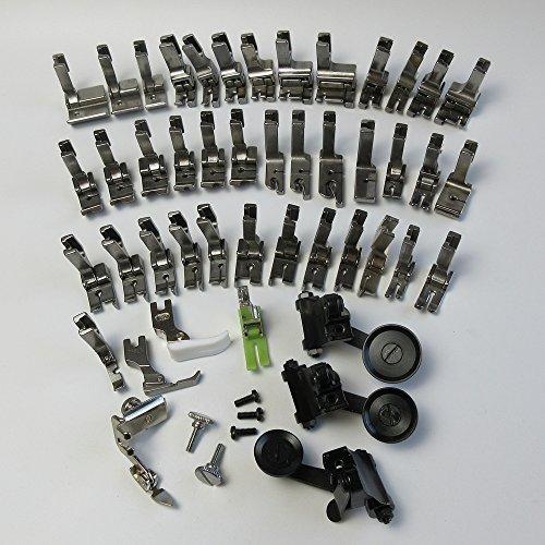 evernice Juego de prensatelas para máquina de coser industrial Juki Ddl-5550 8500 8700 9000